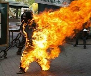 Tibetan self immolation