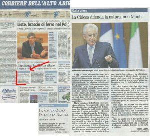 2013.01.03_CorriereAltoAdige_La Chiesa difenda la natura_blog
