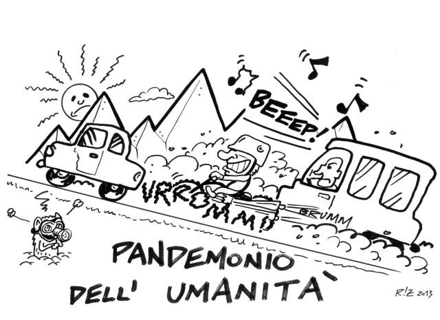 Pandemonio dell'umanità, Manuel Riz