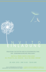 Gemeinwohlregion Vinschgau