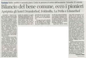 13.12.07_Corriere dell'Alto Adige_Bilancio del Bene Comune, ecco i pionieri