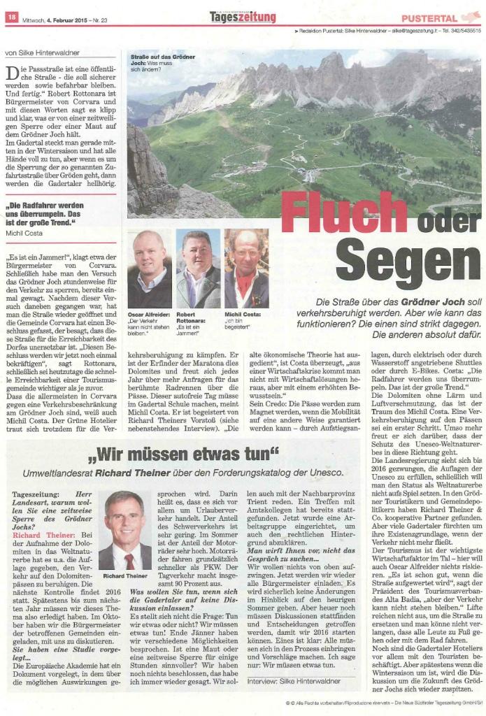 15.02.04_Tageszeitung_Fluch oder Segen